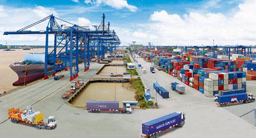 Giao nhận vận chuyển hàng hóa trong container