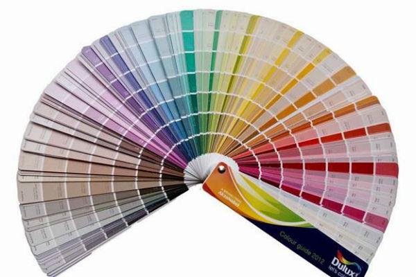 Bảng màu sơn Dulux tổng hợp