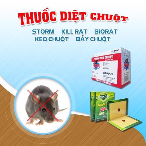Điểm khác biệt giữa thuốc diệt chuột Storm và Biorat