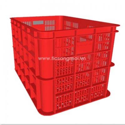 Nên mua sóng nhựa bít hay hở