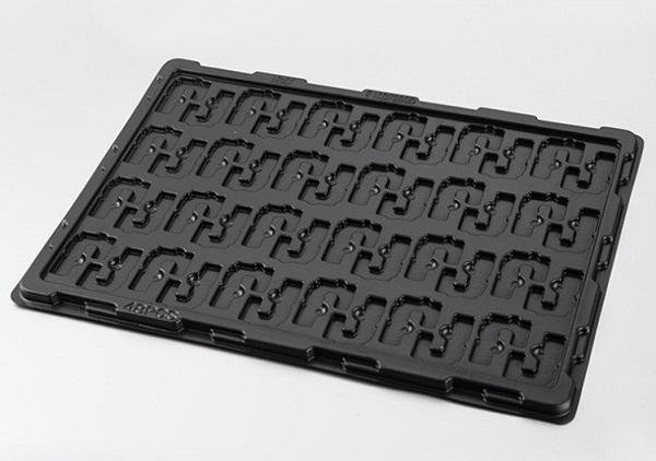Sản xuất khay đựng linh kiện điện tử nhựa định hình