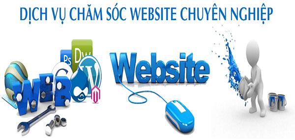 Bạn được gì khi sử dụng dịch vụ chăm sóc web?